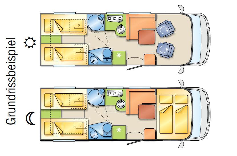 wohnmobile clever in stuttgart wohnmobil grundriss premium exklusiv. Black Bedroom Furniture Sets. Home Design Ideas
