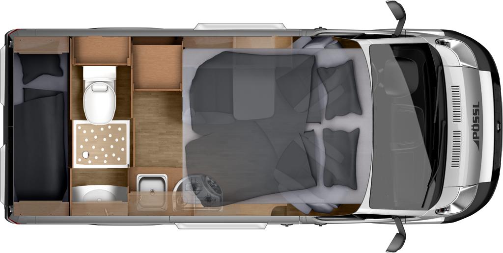 Campingbus Etagenbett : Vermietung campingbus albagiara original westfalia james cook