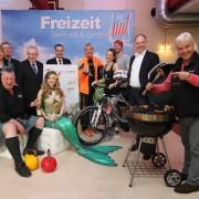 Foto Pressekonferenz Freizeit Touristik & Garten Messe Quelle: AFAG Foto: Udo Dreier